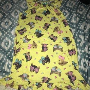 Other - Pajama dress cats